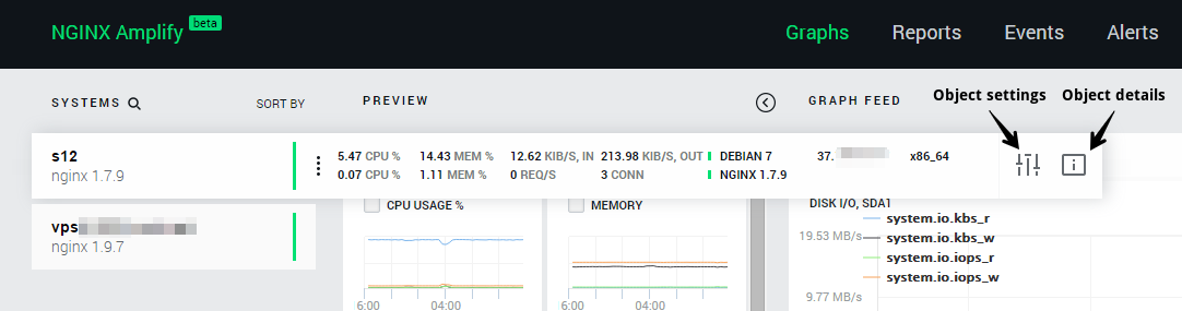 nginx amplify: system details