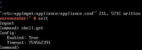 appcli: shell.get