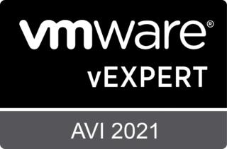 vExpert Avi 2021